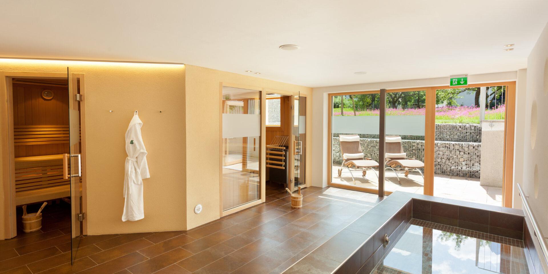 Hotel Auhof Schruns Wellnessbereich